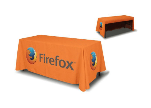 3 sided Tablecloth - Printing Signs Miami